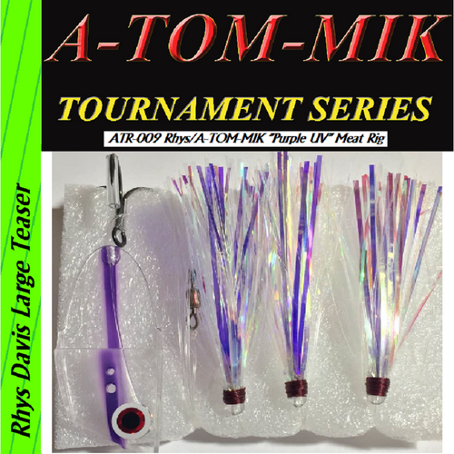 "ATR-029 Rhys/A-TOM-MIK ""UV Purple"" Meat Rig"