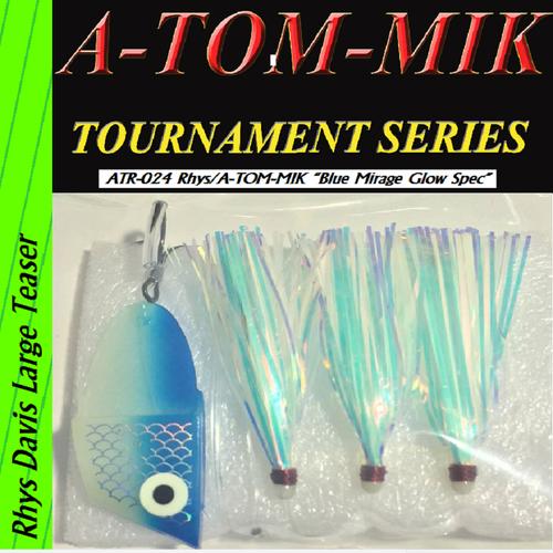"ATR-024 Rhys/A-TOM-MIK ""Blue Glow Mirage Spec"" Meat Rig"