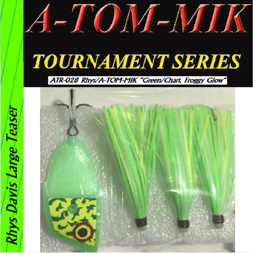 "ATR-028 Rhys/A-TOM-MIK ""Green Chartreuse Frog Glow"" Meat Rig"