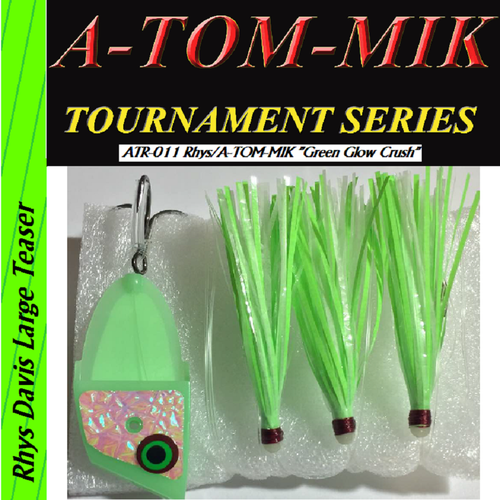 "ATR-011 Rhys/A-TOM-MIK ""Green Glow Crush"" Meat Rig"