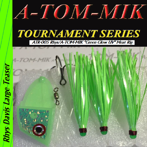 "ATR-005 Rhys/A-TOM-MIK ""Green Glow UV"" Meat Rig"