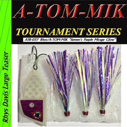 """ATR-037 Rhys/A-TOM-MIK """"Steven's Purple Mirage Glow"""" Meat Rig"""