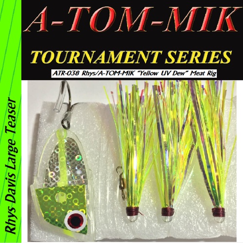"ATR-038 Rhys/A-TOM-MIK ""Yellow UV Dew"" Meat Rig"