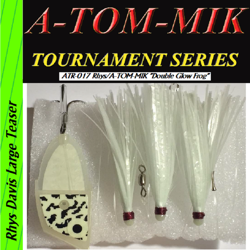 "ATR-017 Rhys/A-TOM-MIK ""Double Glow Frog"" Meat Rig"
