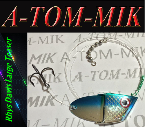 "Custom Rhys Davis Large Teaser ""Blue/Green Chrome"" Rigged"