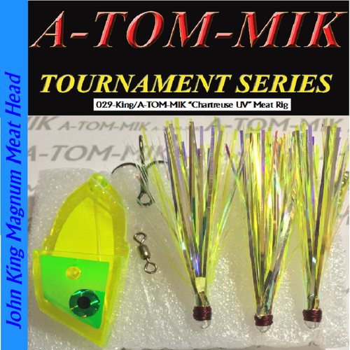 "029-King/A-TOM-MIK ""Chartreuse UV"" Meat Rig"