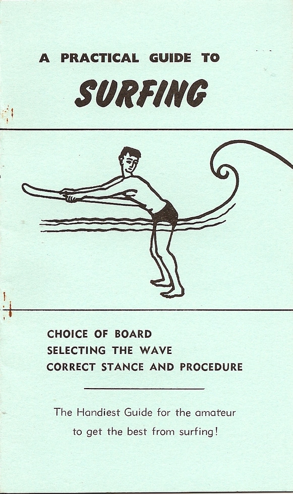Bellyboard Books Dick Pearce NOS A Practical Guide to Surfing Vintage Surf