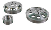 ISR Performance Aluminum Pulley Kit - Scion FR-S / Subaru BRZ - Silver
