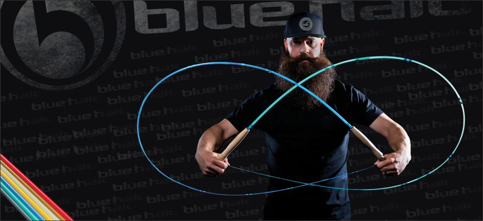 Blue halo gear for Halo fishing rods