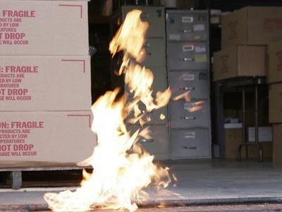 Fogo! No Local de Trabalho