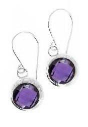 Amethyst Earrings AM01