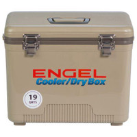 Engel 19 Quart Dry Box Tan - 816219020360