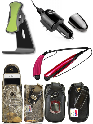 Image of cell phone accessories