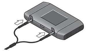 image of netgear 754s antenna ports