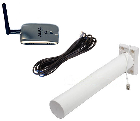 Image of WiFi Adapter and Antenna