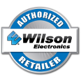 Wilson Electronics weBoost authorized reseller badge