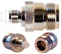 Wilson 971107 N Female To FME Female Adapter
