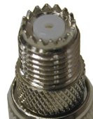 Mini-UHF Female Spice Connector