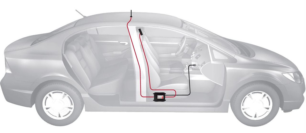 weBoost Drive 4G-M Car Diagram