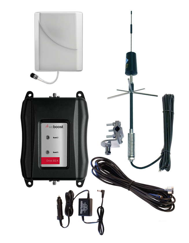 weBoost Drive 3G-X - RV Cell Phone Signal Booster