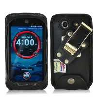 Kyocera DuraForce Turtleback Leather HD Case