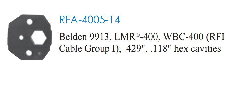 LMR-900, Belden 9913 Cable Crimp Tool