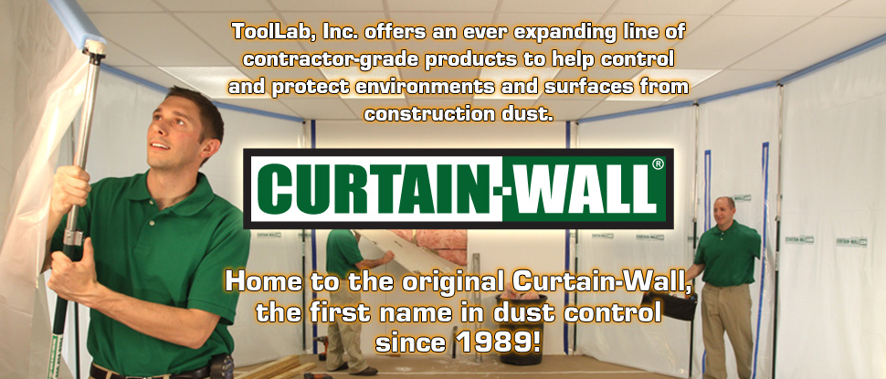 Curtain-Wall, helping contractors control dust since 1989