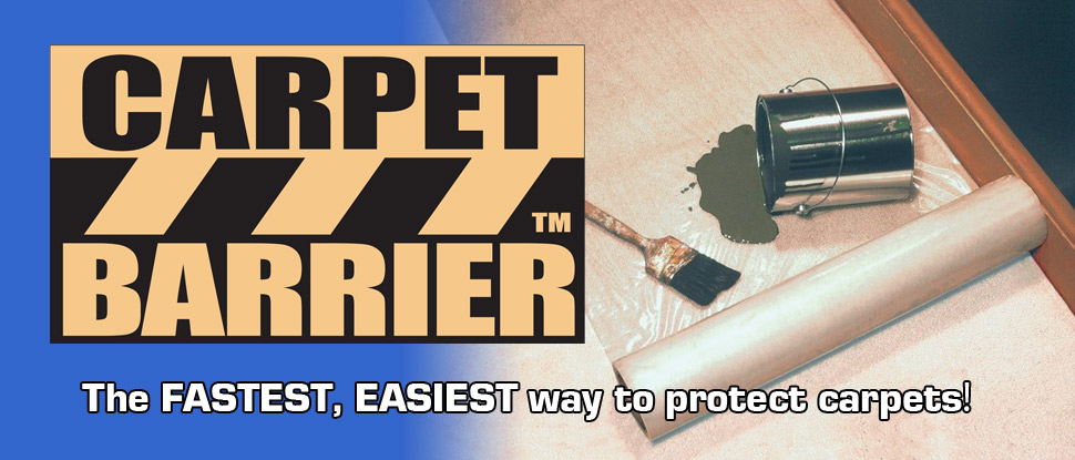 Carpet Barrier, the fastest and easiest way to protect carpets