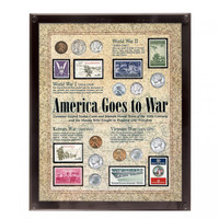 America at War Coin & Stamp Set