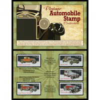 Antique Automobile Stamp Collection