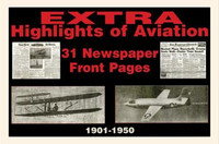 Aviation History Newspaper Set