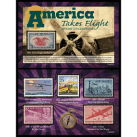History of Flight Stamp Collection