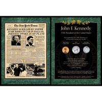 NY Times JFK Assasination Coin Set
