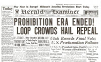 Prohibition Era Ends Historic Newspaper