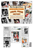 NCAA Basketball Final Four History Newspaper