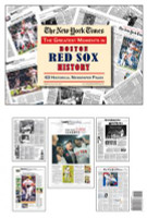 Boston Red Sox History Newspaper