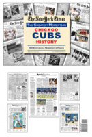 Chicago Cubs History Newspaper