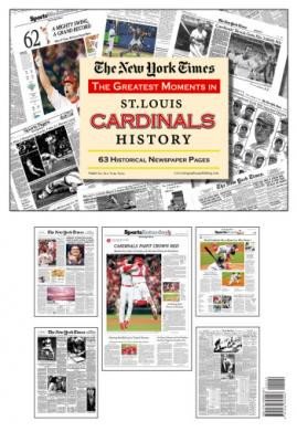 St. Louis Cardinals History Newspaper