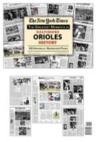 Baltimore Orioles History Newspaper