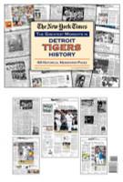 Detroit Tigers History Newspaper
