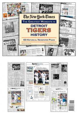 Detroit Tigers History Newspaper