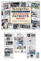 New England Patriots History Newspaper