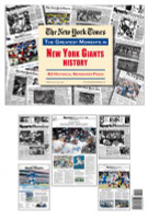 New York Giants History Newspaper