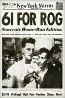 Roger Maris 61st Home Run Historical Newspaper