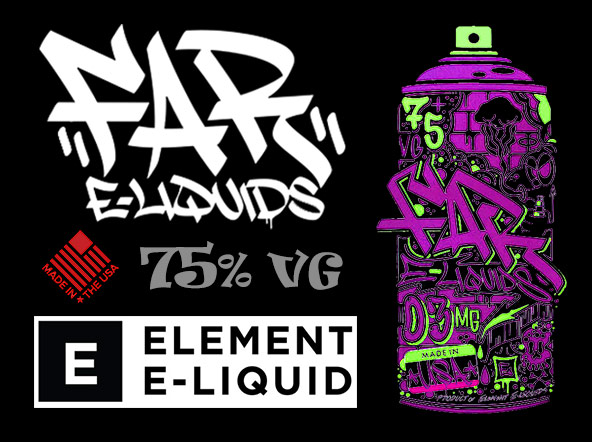 Far e-liquids by Element from ExpressVapour.co.uk