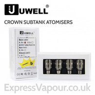 4 Pack - UWELL Crown Subtank Sub-Ohm Atomisers