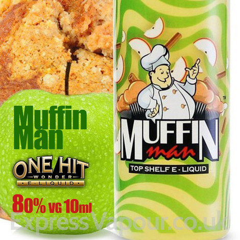 Muffin Man - One Hit Wonder e-liquid - 80% VG - 10ml