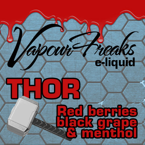 THOR e-liquid by Vapour Freaks - 70% VG - 40ml