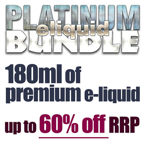 PLATINUM eliquid bundle - 180ml