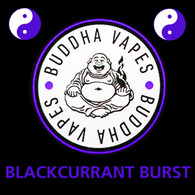 BLACKCURRANT BURST e-liquid by Buddha Vapes - 80% VG